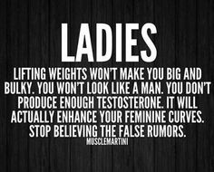 Women & Weights