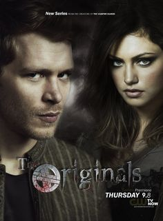 The Originals. hoping this is as good as The Vampire Diaries, but not as addicting...