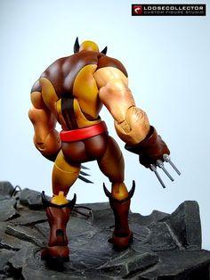 Wolverine : Herrera Style (Marvel Legends) Custom Action Figure by loosecollector