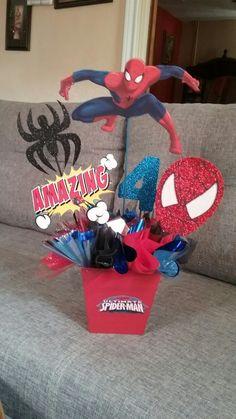 Centro de mesa  Spider-Man
