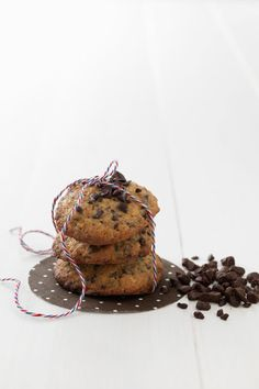 Chocolate cookies. A nice gift to a chocolate lover.
