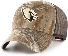 OTS NFL Washington Redskins Mens Challenger Adjustable Hat One Size Mossy Oak