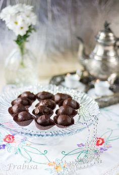 Trufas de chocolate y cerezas al Orujo