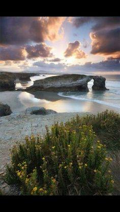 Galicia, Spain.  Beautiful.
