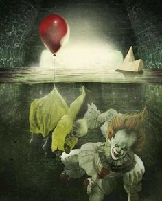""" We All Float Down Here "" ~ Creepy Clown ~"