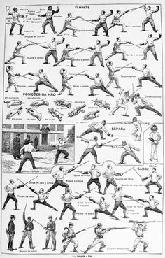 Studying various world martial arts and related artwork. Fencing Sword, Historical European Martial Arts, Martial Arts Techniques, Sword Fight, Poses References, Action Poses, Tai Chi, Karate, Fence