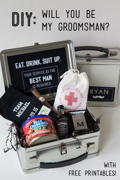 Gift Ideas For Bride And Groom From Best Man : ... my groomsman ideas groomsman gift ideas will you be my bestman bestman