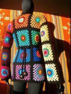 crochelinhasagulhas: Crochê colorido na net