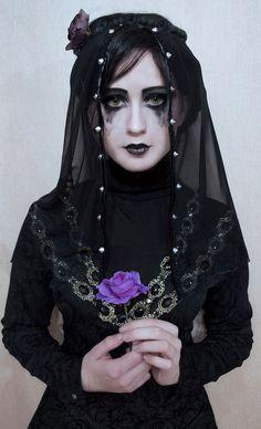 """Iris von Everec aus """"The Witcher Wild Hunt - Hearts of Stone"""" Witcher Art, Witcher 3 Wild Hunt, The Witcher 3, Olgierd Von Everec, Cosplay Costumes, Halloween Costumes, Halloween Ideas, Gothic Photography, Gothic Fashion"""