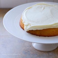 Gluten Free Almond Coconut Cake Recipe with Amy Stafford at www.ahealthylifeforme.com