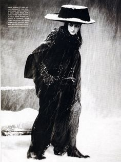 Solange Wilverty photographed by Paolo Roversi