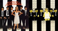 Blondie - LEGO Album Covers