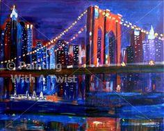 New York, NY - Orlando Painting Class - Painting with a Twist - Painting with a Twist