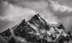Ama Dablam North Face by Koveh Tavakkol