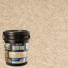 Beach Deck And Concrete Resurfacer PRODUCT DESCRIPTION The Deck Restore 3.75