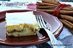 Mommy's Kitchen: Honey Bun Cake {Carson's Favorite Cake}