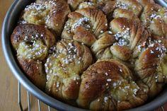 Swedish Cardamom Custard Buns