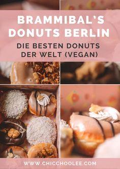 Brammibal's Donuts Berlin – die besten Donuts der Welt (VEGAN!) Fudge, Donuts, Vegan, Berlin, Muffin, Breakfast, Food, Europe, Travel Inspiration