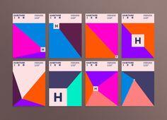 """designcube: """" Habitare Interior, Design & Furniture Fair Identity by Jenni Manillnen, 358 Helsinki and Mikael Kivelä. Helsinki, Finland. """""""