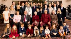 The Danish and Greek royals release a rare family photo from their Christmas celebrations 2014