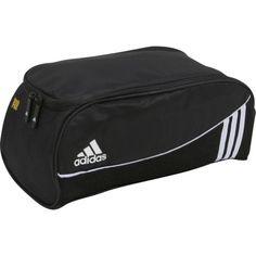 adidas Estadio Team Shoe Bag Soccer Shoe Bag --The Estadio Team Shoe Bag is a freshPAK ventilated versatile gear storage bag with a lined main pocket and a webbing loop haul handle.