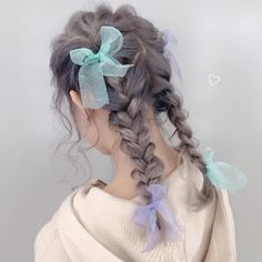 "momo ♥ shachu ☪︎⋆⋆ 🔫 on Instagram: ""・ ・ 🍒 SHACHU 解体新書 -SECRET ONLINE SALON 🍒 @dmm_onlinesalon ・ ・ 本日 クリスマス🎄に公開ッ!!の ・ momo の girly twin arrange ❤︎ how to を 手元を up で細かく…"" Kawaii Hairstyles, Pretty Hairstyles, Braided Hairstyles, Mode Harajuku, Lolita Hair, Hair Arrange, Aesthetic Hair, Asian Hair, Dream Hair"