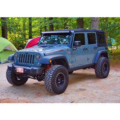 Camping with the JKUR