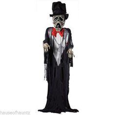 Ghost Groom Wedding Halloween Decor Prop Zombie Haunted House Yard Skeleton Tux