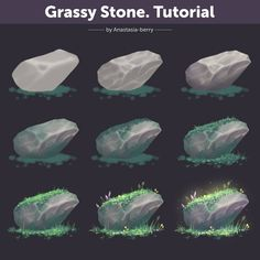 Tutorial by Anastasia-berry on DeviantArt Digital Painting Tutorials, Digital Art Tutorial, Art Tutorials, Digital Paintings, Painting Process, Process Art, Painting Techniques, Sketch Painting, Environment Painting