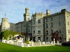 One of the castles we're staying at in Ireland! I cant wait!!