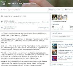 Evento AKASHA, que une Filosofia Elos e alimentação saudável, empreendido pelo gsa 2012 Felipe Denz e Cosiness, em Gravatah (RS).
