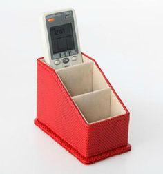 Portamandos Rojo Chic. www.tatamba.com