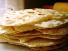 home-made tortilla