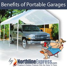 Are you considering building a garage or just looking for some extra storage around your property? If you said yes to that then keep reading to learn the benefits of portable garages and carports.