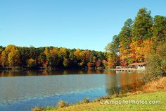Tucked between the growing cities of Raleigh, Cary, Durham and the corporate world of Research Triangle Park is an oasis of tranquility, a peaceful haven—William B. Umstead State Park (Raleigh, North Carolina)