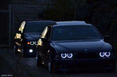BMW E39 5 series duo black