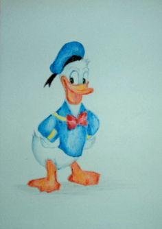 Baby Art, Donald Duck, Disney Characters, Fictional Characters, Fantasy Characters, Art Kids, Infant Art, Baby Artwork