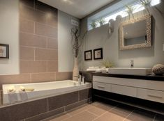 Salle de bain (simon) Multi Family Homes, Home And Family, Modular Homes, Design Process, Custom Homes, Creative Design, Building A House, Engineering, Bathtub