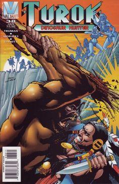 Cover for Turok, Dinosaur Hunter (Acclaim / Valiant, 1993 series) #38