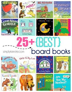 This is a fabulous list of the Best Board Books for babies and toddlers. You and your children will love these books for a lifetime! Good Books, Books To Read, My Books, Reading Books, Toddler Books, Childrens Books, Board Books For Babies, Best Baby Gifts, Early Literacy