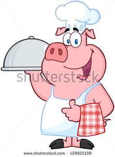 Cartoon Pig Illustration Photos et images de stock | Shutterstock