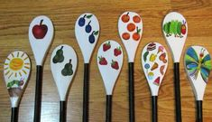 The Very Hungry Caterpillar Story Spoons: story telling
