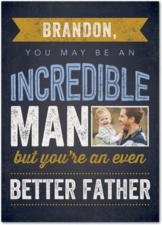 DIY Father's Day card for husband. Get 3 cards for $6 from Treat.com with promo code: EMPA6A2D38