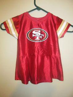 4bd3d67e76e San Francisco 49ers Cheerleader outfit - NFL Infant 18 months  NFL  SanFrancisco49ers  49ers Cheerleaders