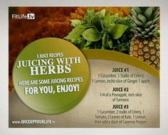 Juicing with Herbs