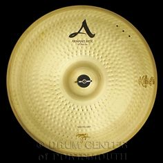 """Zildjian A 19"""" Armand Zildjian Beautiful Baby Ride Cymbal Bright and musical vintage A Sound. Armand Zildjian's favorite ride sound, features three rivet cluster and laser engraved Armand Zildjian Signature with his favorite expression, Beautiful, Baby.  Purchase Here: http://www.drumcenternh.com/cymbals/ride/zildjian-a-19-armand-zildjian-beautiful-baby-ride-cymbal.html"""