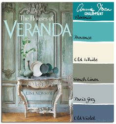 Beautiful paneling is obtainable with Annie Sloan Chalk Paint. Although the prominent overall color is green, notice the additional colors. Old Violet, Paris Grey, and French Linen can be mixed and...