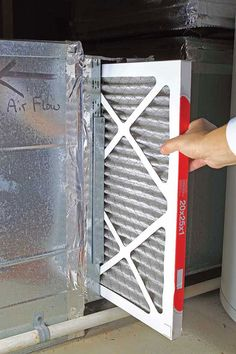 Best Way to Change Furnace Filters    A reader wonders how often to change furnace filters to keep the air clean in her home. Learn the frequency with which homeowners should replace a furnace filter. From MOTHER EARTH NEWS magazine.