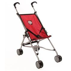 My First Umbrella Doll Stroller Red * Click on the image for additional details.Note:It is affiliate link to Amazon.