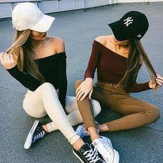 Pin by autumn coker on best frienddd friend outfits, bff goals, bff picture Bff Goals, Best Friend Goals, Summer Outfits, Casual Outfits, Cute Outfits, Fashion Outfits, Style Fashion, Fashion Boots, Fashion Brands